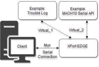 Host Serial Interfaces - XPort EDGE